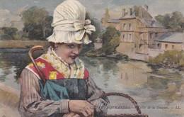 Postcard Coiffes Normandes Vallee De La Touques Folklore Costume My Ref  B12415 - Costumes
