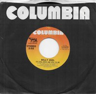 """Billy Joel 45t. SP USA """"It's Still Rock And Roll To Me"""" - Other - English Music"""