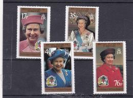Antarctique Britannique Neuf ** 1996  N° 269/272    70 Ans De La Reine Elisabeth II - British Antarctic Territory  (BAT)