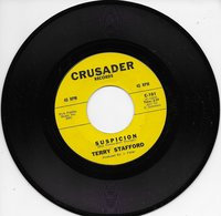 """Terry Stafford 45t. SP """"suspicion/judy"""" - Other - English Music"""