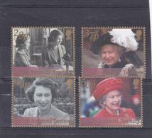 Antarctique Britannique Neuf ** 2002  N° 339/342    50 Ans De L'accession Au Trone Pour Elisabeth II - British Antarctic Territory  (BAT)