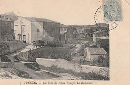 34/ Tressan  - Un Coin Du Village - La Barbacane - France