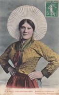 Postcard Boulogne Sur Mer Matelote En Carmagnole PU 1913 Folklore Costume My Ref  B12417 - Costumes