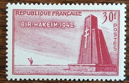 YT N°925 - Victoire De Bir Hakeim - 1952 - Neuf - Frankreich