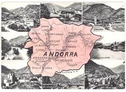 Cpsm Andorra / Andorre - Multivues, Ordino, Encamp, Pas De La Casa, ... - Andorre