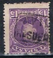 Sello 15 Cts Alfonso XII, Carteria II RASUEROS (Avila), Num 246 º - 1889-1931 Reino: Alfonso XIII