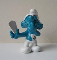- SCHTROUMPF - Schtroumpf Carte - Peyo 1978 - Schleich - - Smurfs