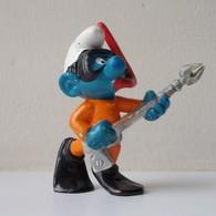 - SCHTROUMPF - Schtroumpf Plongeur - Peyo 1980 - Bully - - Smurfs