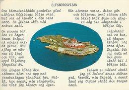 Sweden - Elfsborgvisan   Used 1976.   B-3163 - Sweden