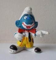 - SCHTROUMPF - Schtroumpf Clown - Peyo 1980 - Schleich - - Smurfs