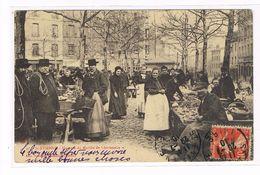 CPA (42) St Etienne.Un Coin Du Marché De Chavanelle. Animation. (B.286) - Saint Etienne