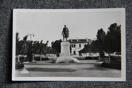 LOURMEL - Statue Du Général De LOURMEL - Other Cities