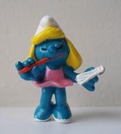 - SCHTROUMPF - Schtroumpfette Secrétaire - Peyo - Schleich - - Smurfs