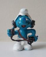 - SCHTROUMPF - Schtroumpf CB - Peyo 1982 - Schleich - - Smurfs