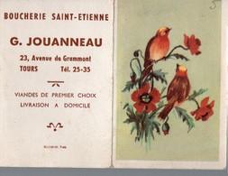 Tours (37 Indre Et Loire) Calendrier 1953 JOUANNEAU Boucherie St Etienne (PPP16689) - Calendars