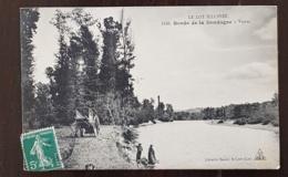 VAYRAC (46) Bords De La Dordogne. Attelage. - Vayrac