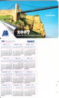 """ALGERIA - Sidi M""""Cid Bridge/Constantine, Calendar 2007, HB Technologies Sample - Algeria"""
