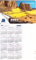 ALGERIA - Tassili(Tamanrasset), Calendar 2007, HB Technologies Sample - Algeria