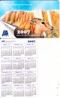 ALGERIA - Hammam El-Meskhoutine(Guelma), Calendar 2007, HB Technologies Sample - Algeria