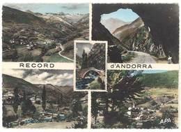 """Cpsm Record D Andorra / Andorre - Multivues, """" La Massana """" - Andorre"""