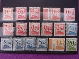 Série Complète Année 1960. (Cote 500 Euros). - Parcel Post