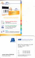 ALGERIA - Fidelity Plus, HB Technologies Sample - Algeria