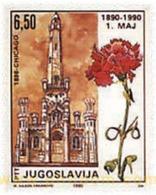 Ref. 95823 * MNH * - YUGOSLAVIA. 1990. CENTENARY OF 1st MAY . CENTENARIO DEL PRIMERO DE MAYO - Végétaux