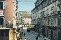 U.484.  TRIESTE - Via Delle Poste - Trieste