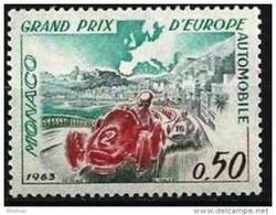 """Monaco YT 609 """" Grand Prix Automobile """" 1963 Neuf ** - Unused Stamps"""