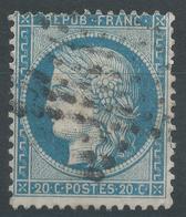 Lot N°44470   N°37, Oblit étoile Muette De PARIS - 1870 Siege Of Paris