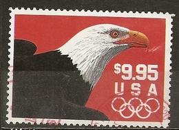 Etats-Unis USA 1995 Bald Eagle $9.95 Obl - Used Stamps