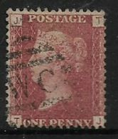 Great Britain, Queen Victoria, 1858 - 79, 1d Red, Perf14, Plate 113, Used - 1840-1901 (Victoria)