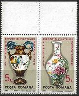 Romania 1991 Scott 3686 MNH Pair Romanian-Chinese Exhibition - 1948-.... Repubbliche