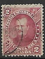 COSTA   RICA   -   1883 .  Y&T N° 13 Oblitéré - Costa Rica