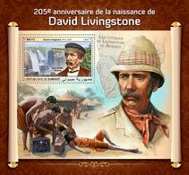Djibouti. 2018 205th Anniversary Of David Livingstone. (415b) - Explorateurs