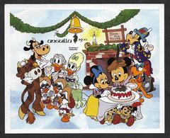 Anguilla Walt Disney 1984 Nöel Bloc Non Dentelé ** Disney Christmas Imperforated Souvenir Sheet ** - Anguilla (1968-...)