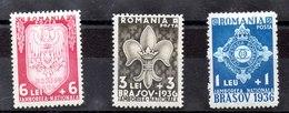 Serie De Rumania N ºYVert 505/07 (**) - 1918-1948 Ferdinand, Charles II & Michael