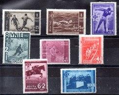 Serie De Rumania N ºYVert 515/22 (**) - 1918-1948 Ferdinand, Charles II & Michael