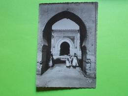 Carte Postale - MAROC - Meknés  - Entrée De Dar Kbira (2413) - Meknes