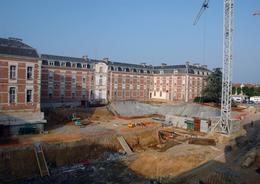 - 64 - Bayonne (64) - Vue Hôpital En Travaux - 5.649 - Bayonne