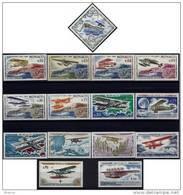 "Monaco YT 637 à 651 "" Rallye Aérien De Monaco "" 1964 Neuf** - Unused Stamps"