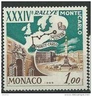 "Monaco YT 662 "" 34e Rallye Automobile "" 1964 Neuf** - Unused Stamps"