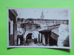 Carte Postale - MAROC - Meknés  - Entree Du Quartier Djemas Zitouna (2416) - Meknes
