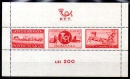 Hoja Bloque De Rumania N ºYvert 12 (**) - 1918-1948 Ferdinand, Charles II & Michael