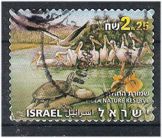 Israel 2007 Hula Natur Reserve, Birds, Pelican  Mi 1957 Used - Israel