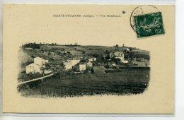 09-01 STE SAINTE SUZANNE Carte RARE Vue Du Village 1909 écrite Timbrée    /D11-2016 - Autres Communes