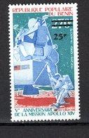 BENIN  PA N° 315 NEUF SANS CHARNIERE  COTE  5.00€   ESPACE APOLLO XIV - Benin – Dahomey (1960-...)