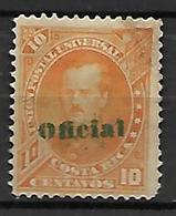 COSTA   RICA   -   Service  /  Oficial   -   1883 .  Y&T N° 6 Oblitéré - Costa Rica