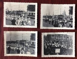 Festzug In Ludwigshafen. 1933. Tramway. Fanfare. National-socialisme. 8 Photos. - Lieux
