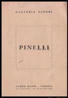 VENEZIA - 1947 - PIEGHEVOLE (4 Facciate) MOSTRA GALLERIA SANDRI -  PINELLI (DIPINTI) - Programmi